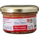 Pâté de campagne au piment d'Espelette 90 grammes