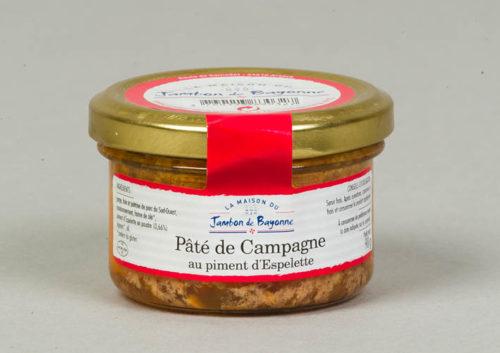 Pâté de Campagne au piment d'Espelette