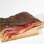 Poitrine de porc plate