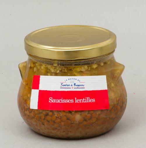 Saucisses-Lentilles du Sud-Ouest