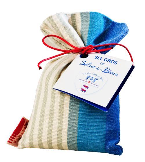 Gros Sel du Béarn dans son sac en tissu