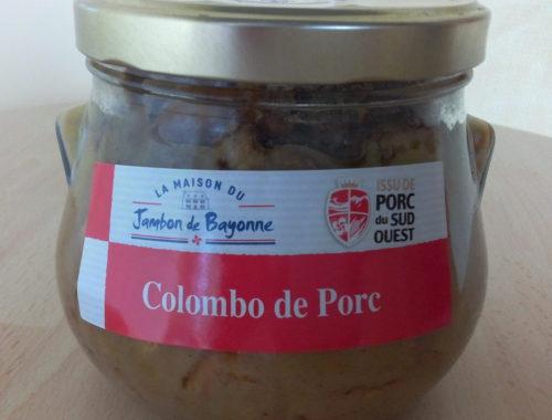 Colombo de Porc, Porc du Sud-Ouest