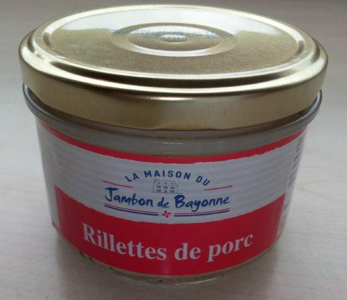 Jambon de Bayonne Rillettes Pur Porc