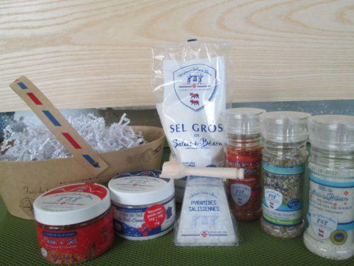 Coffret Sel des Salies de Béarn - Destination Sel de Salies