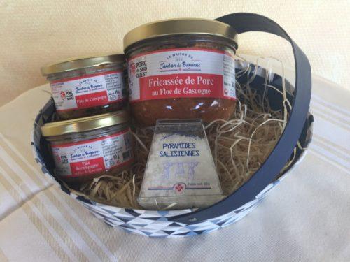 Paniers Gourmands - Corbeille fantaisie