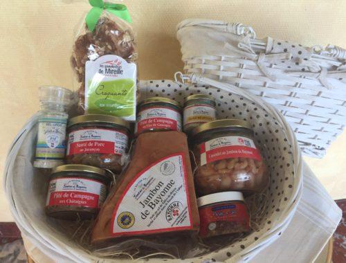 Panier Gourmand Charcuterie - Panier en Osier