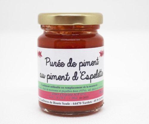 purée de piment au piment d'espelette 90 grammes