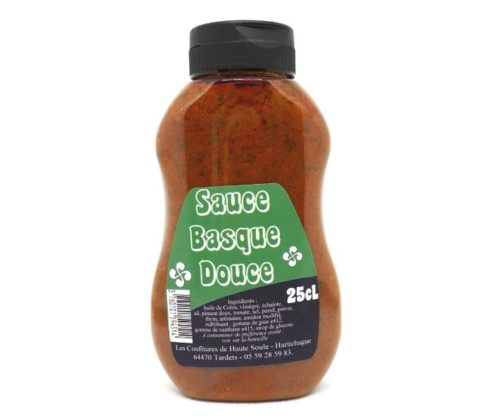 sauce basque douce 25 cl